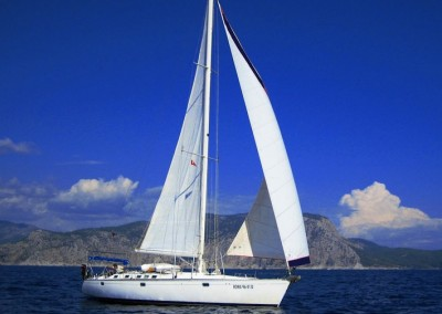Oceanis 510 full sail