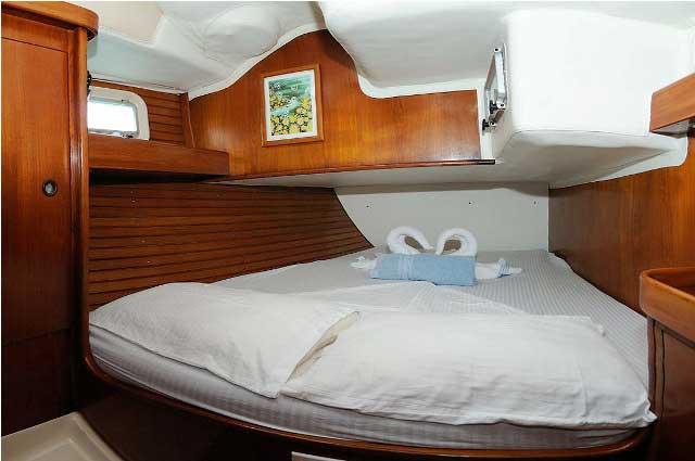 Oceanis 510 Stern Cabin