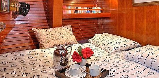 Swan 65 double cabin