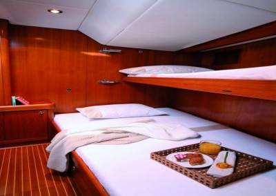 Swan 80 Front Cabin