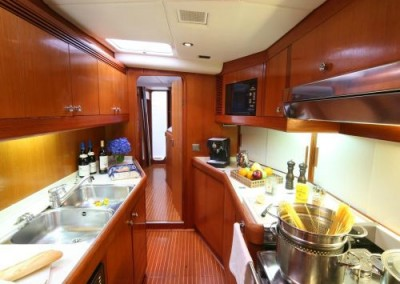 Swan 80 Galley