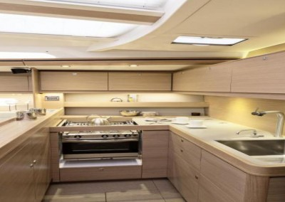 Dufour 560 Galley