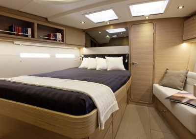 Dufour 560 Stern Cabin