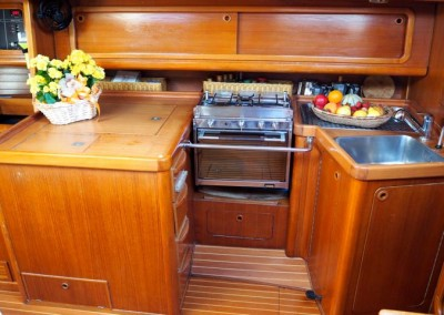 Grand Soleil 46 Galley