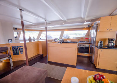 Fountaine-Pajot 57 galley